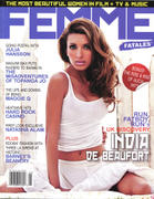 India De Beaufort - Femme Fatales Magazine May 2008