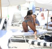 Claudia Romani 07 Sexy Bikini Candids At Miami Beach