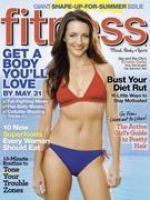 Kristin Davis Fitness Magazine Cover