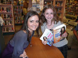 Danica MCKellar at a booksigning