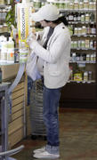 Selma Blair shops for vitamins at Earthbar in West Hollywood  02-02-2011