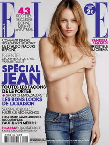 Vanessa Paradis sexy photoshoot top elle