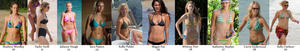 Best Bikini Body - Celebs in their 20's