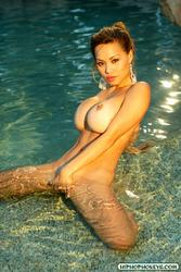 Francine Dee - Wet & Naked Asian Dime piece: photo 6