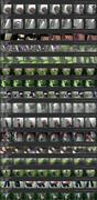 PissHunters 8481-8496 (Outdoor voyeur peeing. Voyeur public toilet spy cam)