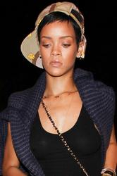 Rihanna at a Recording Studio in Los Angeles - October 16, 2012